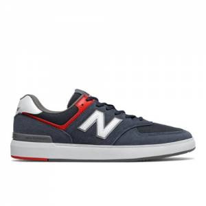 New Balance All Coasts 574 Men's Court Classics Shoes - Navy (AM574NVR)