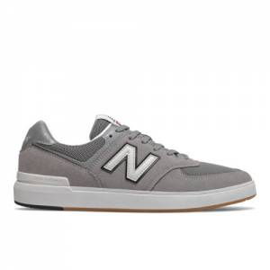 New Balance All Coasts 574 Men's Court Classics Shoes - Grey (AM574SGR)