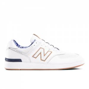 New Balance Unisex NB AM574 x Slowtide Lifestyle Shoes - White (AM574TDE)
