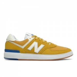 New Balance All Coasts AM574 Men's Lifestyle Shoes - Yellow (AM574YWB)