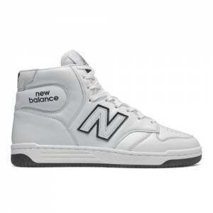 New Balance BB480 Men's Lifestyle Shoes - White (BB480HE)