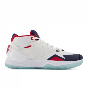 New Balance KAWHI Men's Basketball Shoes - White (BBKLSVIP)