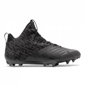 New Balance BurnX2 Mid Men's Lacrosse Shoes - Black (BURNXMB2)