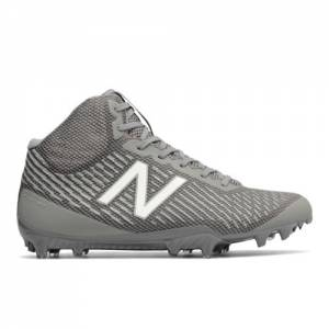 New Balance Burn Mid-Cut Men's Lacrosse Shoes - Grey (BURNXMGG)