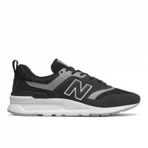 New Balance 997H Men's Classics Shoes - Black / Silver (CM997HFI)