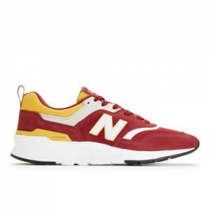 New Balance 997H Men's Lifestyle Shoes - Red (CM997HRO)