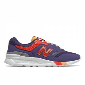 New Balance 997H Men's Lifestyle Shoes - Purple / Red (CM997HSD)
