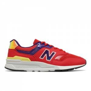 New Balance 997H Men's Lifestyle Shoes - Orange / Blue (CM997HUL)