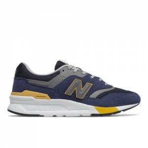 New Balance 997H Men's Lifestyle Shoes - Black / Navy (CM997HVG)