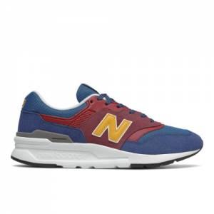 New Balance 997H Men's Lifestyle Shoes - Red / Navy (CM997HVM)