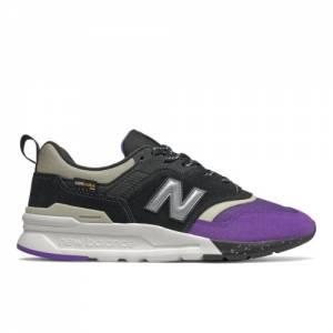 New Balance 997H Men's Classics Shoes - Black / Purple (CM997HYT)