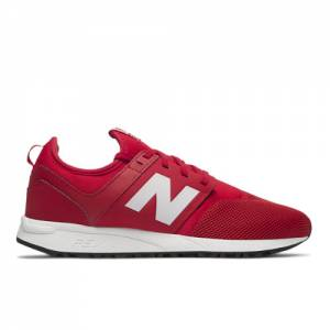 New Balance 247 Classic Men's Lifestyle Sneakers Shoes - Red / White (MRL247RW)