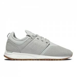 New Balance 247 Luxe Women's Sport Style Shoes - Grey (WRL247NK)