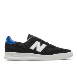 New Balance CRT300v2 Men's Court Classics Shoes - Black (CRT300F2)