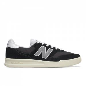 New Balance 300 Men's Court Classics Shoes - Black (CRT300O2)