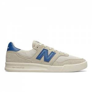 New Balance 300 Men's Court Classics Tennis Shoes - Off White (CRT300YC)