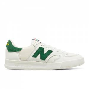 New Balance 300 Made in UK Cumbrian Pack Men's Sneakers Shoes - White / Green (CT300CF)