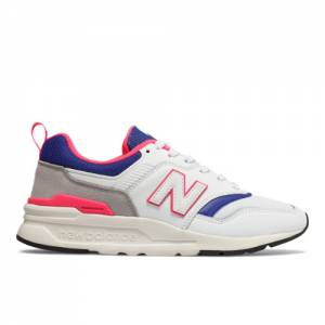 New Balance 997H Women's Classics Shoes - White / Blue (CW997HAJ)
