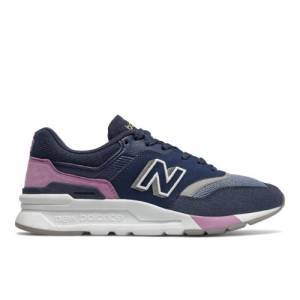 New Balance 997H Women's Classics Lifestyle Shoes - Navy (CW997HAM)