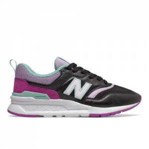 New Balance 997H Women's Classics Shoes - Black / Purple (CW997HMC)