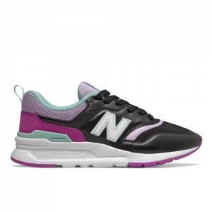 New Balance 997H Women's Classics Shoes - Black / Purple (CW997HMC)