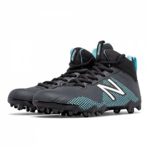 New Balance Junior FreezeLX Kids Grade School Sports Shoes - Black / Blue (FREEZJBK)
