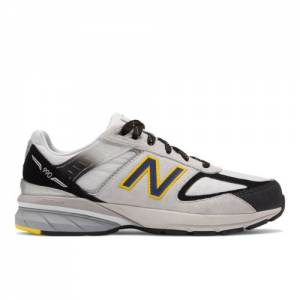 New Balance 990v5 Kids Grade School Lifestyle Shoes - Silver (GC990SB5)