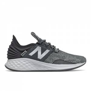 New Balance Fresh Foam Roav City Grit Kids Running Shoes - Grey (GEROVRC)
