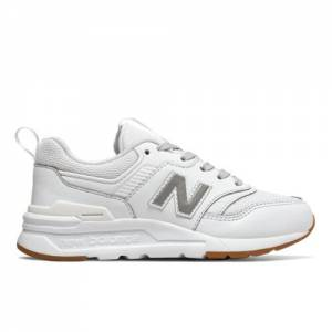 New Balance 997H Kids Grade School Lifestyle Shoes - White (GR997HCN)