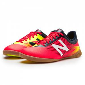 New Balance Junior Furon 2.0 Dispatch IN Kids Grade School Sports Shoes - Red / Navy / Yellow (JSFUDICG)