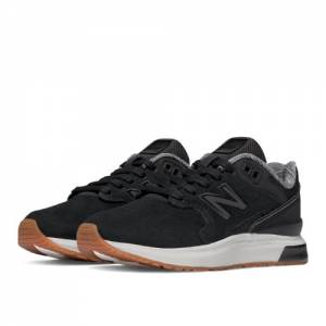 New Balance 1550 Suede Kids Pre-School Lifestyle Shoes - Black (K1550SBP)
