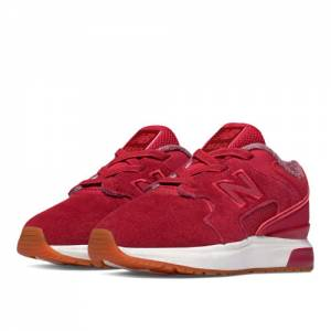 New Balance 1550 Suede Kids Infant Lifestyle Shoes - Red (K1550SRI)