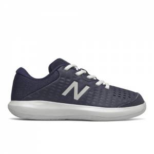 New Balance KC696v4 Kids Tennis Shoes - Navy (KC696G4)