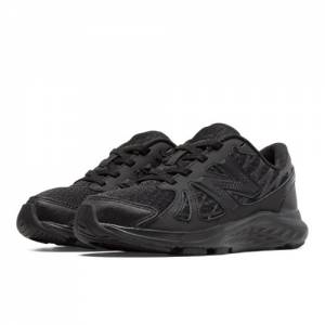 New Balance 690v4 Kids Grade School Running Shoes - Black (KJ690TBY)
