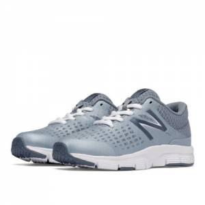 New Balance 775 Kids Grade School Running Shoes - Grey / White (KJ775RGY)