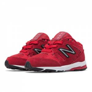 New Balance 888 Kids Infant Running Shoes - Red / White (KJ888BFI)