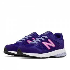 New Balance 888 Kids Pre-School Running Shoes - Purple / Pink (KJ888PPP)