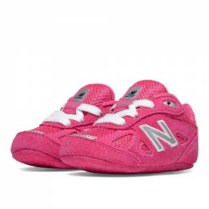New Balance 990v4 Kids Crib (size 0 - 4) Shoes - Pink (KJ990PEC)