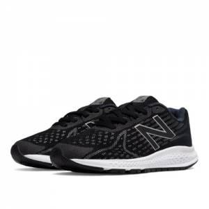 New Balance Vazee Rush v2 Kids Pre-School Running Shoes - Black / Silver (KJRUSBSP)