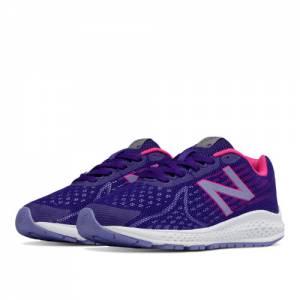 New Balance Vazee Rush v2 Kids Pre-School Running Shoes - Purple / Pink (KJRUSPPP)