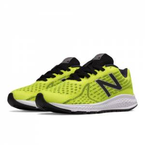 New Balance Vazee Rush v2 Kids Grade School Running Shoes - Yellow / Black (KJRUSYBG)