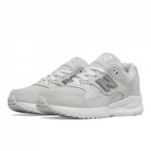 New Balance 530 Kids Grade School Lifestyle Shoes - White (KL530TWG)