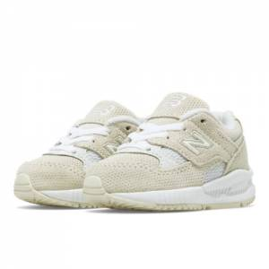New Balance 530 Kids Infant Lifestyle Shoes - White (KL530TWI)