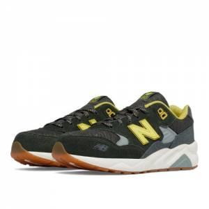 New Balance 580 Wanderlust Kids Grade School Lifestyle Shoes - Green / Yellow (KL580WYG)