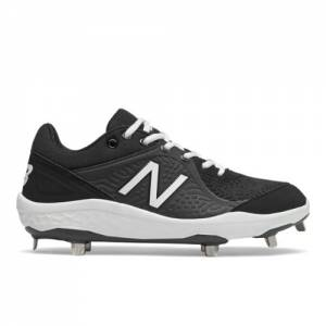 New Balance 3000v5 Fresh Foam Cleats Men's Baseball Shoes - Black / White (L3000BK5)