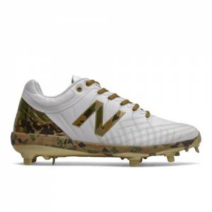 New Balance Armed Forces Day 4040v5 Men's Cleats Shoes - White (L4040MD5)