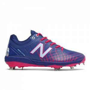 New Balance x Big League Chew 4040v5 Men's Baseball Cleats Shoes - Navy (L4040RB5)