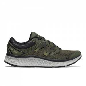 New Balance Fresh Foam 1080v7 Men's Soft and Cushioned Shoes - Green / Black (M1080EX7)