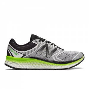 New Balance Fresh Foam 1080v7 Men's Soft and Cushioned Shoes - White / Green (M1080WB7)