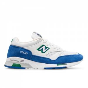 New Balance 1500 Made in UK Cumbrian Pack Men's Shoes - Blue / White / Yellow (M1500CF)